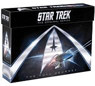 DVD Pack Star Trek TOS Serie Original Completa