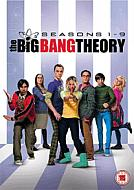 DVD Pack The Big Bang Theory Temporadas 1 a 9