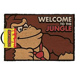 Nintendo Felpudo Donkey Kong Welcome to the Jungle 40 x 60 cm