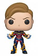 Avengers: Endgame POP! Movies Vinyl Figura Captain Marvel w/New Hair 9 cm