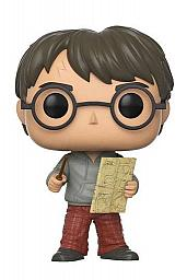 Harry Potter POP! Movies Vinyl Figura Harry Potter with Marauders Map 9 cm