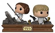Star Wars Pack de 2 POP! Movie Moments Vinyl Cabezón Trash Compactor Escape 9 cm
