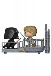 Star Wars Pack de 2 POP! Movie Moments Vinyl Cabezón Cloud City Duel 9 cm