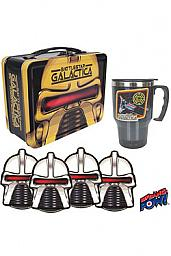 Galactica Estrella de combate Set de Regalo Lunch Box 35th Annyversary