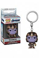 Vengadores Endgame Llavero Pocket POP! Vinyl Thanos 4 cm