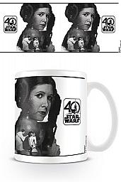 Star Wars Taza 40th Anniversary (Princess Leia)