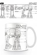 Star Wars Taza AT-AT Sketch