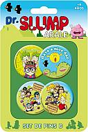 Dr. Slump Pack 4 Chapas Set D