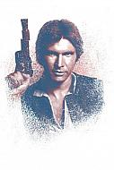 Star Wars Póster de metal Successors Collection Han Solo 32 x 45 cm
