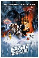 Star Wars Póster The Empire Strikes Back (El Imperio Contraataca) (Ref. 318)