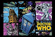 Póster Doctor Who Comic Layout (Ref. 37)