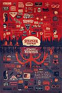 Stranger Things Póster The Upside Down 61 x 91 cm (Ref. 346)