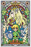 Legend of Zelda Póster Stained Glass (Ref. 312)