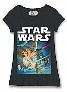 Star Wars Camiseta Chica Póster New Hope
