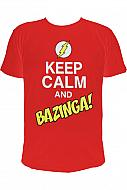 Big Bang Theory Camiseta Keep Calm and Bazinga