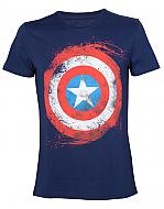 Marvel Camiseta Captain America Shield