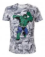 Marvel Camiseta Comic  Hulk