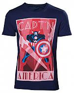 Marvel Capitán América Camiseta Shield Up