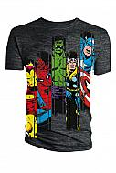 Marvel Comics Camiseta Avengers Panel