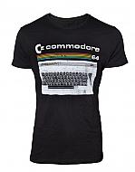 Retro Camiseta teclado Commodore 64