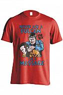 Star Trek Camiseta Vulcan Massage