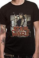 Star Wars Camiseta Han Retro Badge