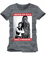 Star Wars Camiseta Never Go Solo