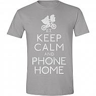 ET Camiseta Keep Calm and Phone Home