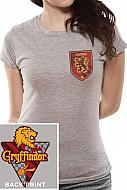 Harry Potter Camiseta Chica House Gryffindor
