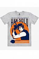 Star Wars Camiseta Easy Fit Organic T-Shirt Han Solo In It For The Money