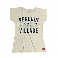 Suxinsu Camiseta Arale Dr. Slump Penguin Village Chica
